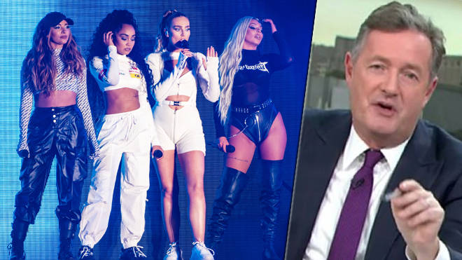 Little Mix drag Piers Morgan with iconic Wasabi intro video on their LM5 Tour