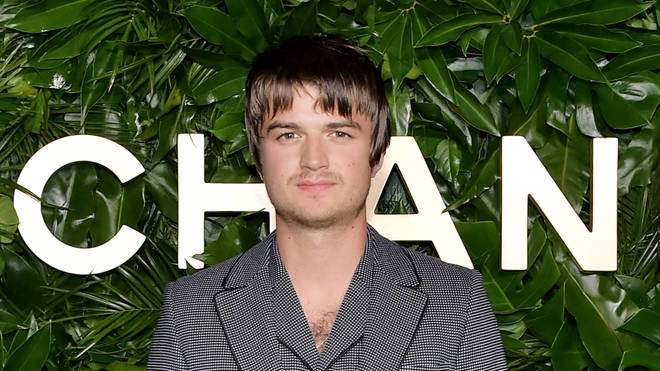 Joe Keery attends Chanel show