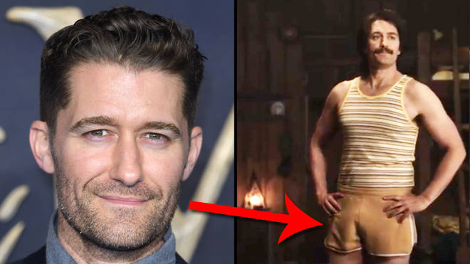 Glee's Matthew Morrison is in AHS: 1984 and everyone is losing it over his fake penis