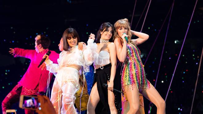 Taylor Swift, Camila Cabello & Charli XCX