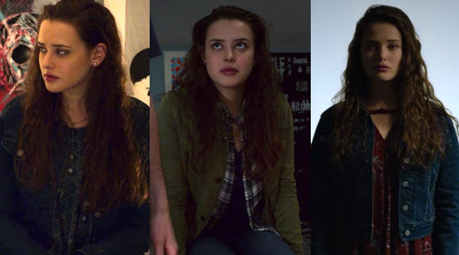 Hannah Baker Ghost Outfit Changes