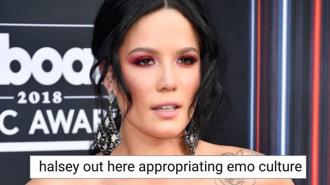 Halsey emo culture