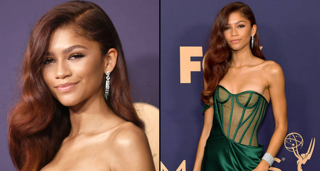 Zendaya attends the 71st Emmy Awards.