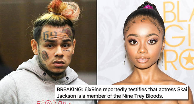 Tekashi 69, aka 6ix9ine, appears at his arraignment in Manhattan Criminal Court, Skai Jackson attends 2019 Black Girls Rock!