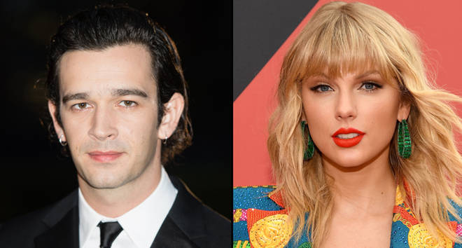 Matthew Healy attends the GQ Men Of The Year Awards 2019, Taylor Swift attends the 2019 MTV Video Music Awards.