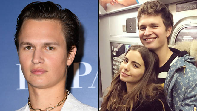 Ansel Elgort is now in an open relationship with his girlfriend Violetta Komyshan