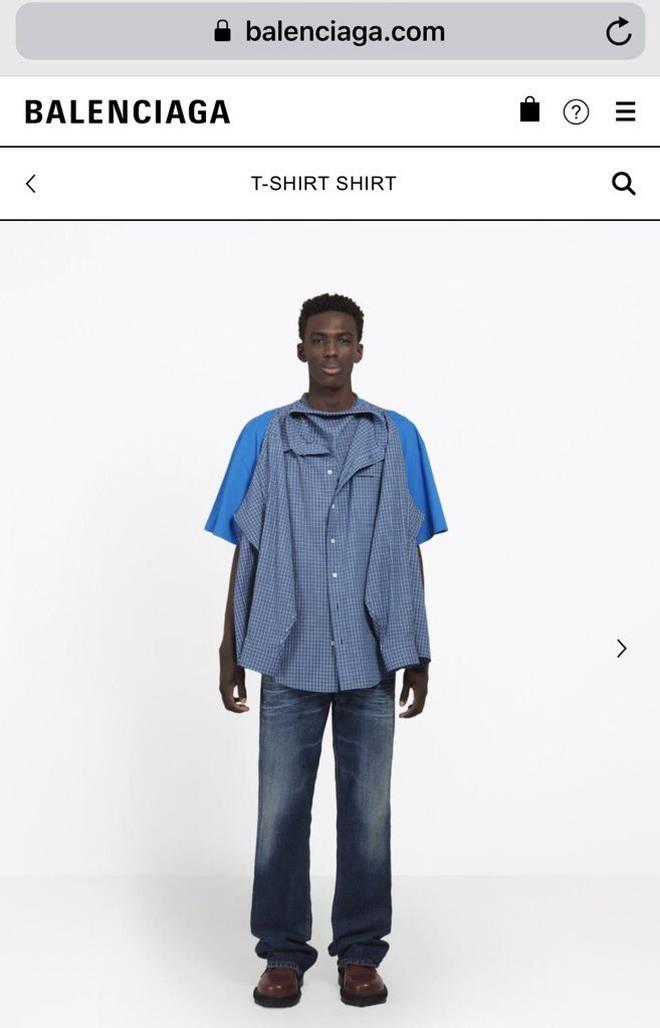 Balenciaga t shirt shirt