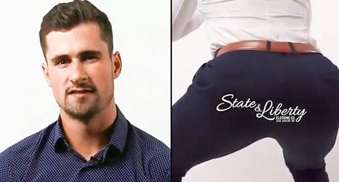 Hockey Butt ad.