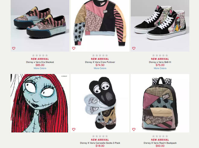 Vans Collection Nightmare Before Christmas