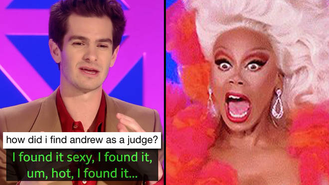 Andrew Garfield's appearance on Drag Race UK has inspired the funniest memes
