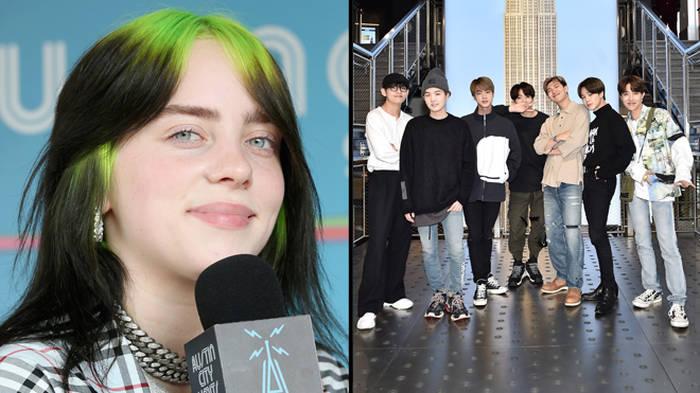 Billie Eilish defends BTS after her fans diss them during live interview