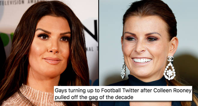 Rebekah Vardy attends the National Television Awards 2018, Coleen Rooney watches the racing.