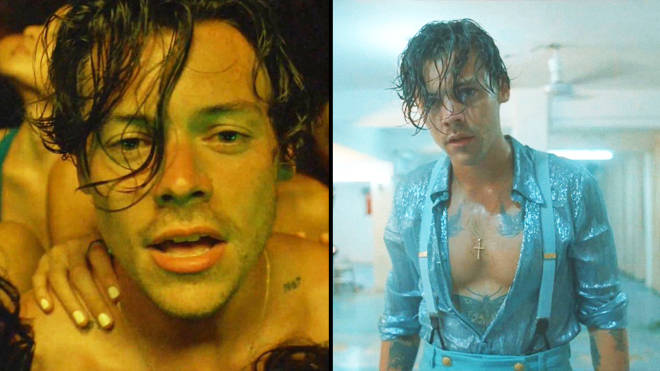 Harry Styles Shares The Secret To His Glow In Lights Up