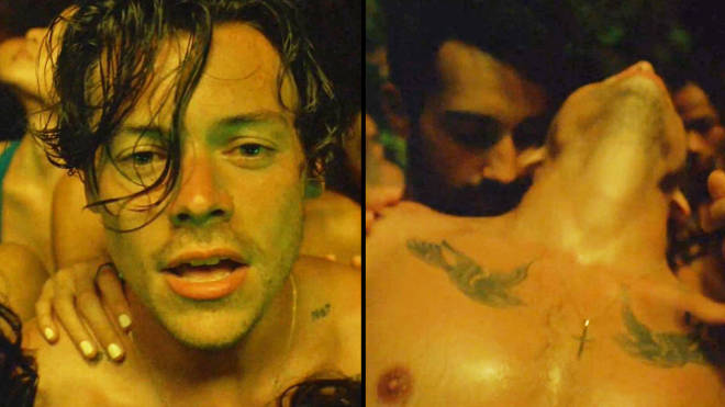"""Harry Styles Lights Up lyrics and video: Fans label it a """"bisexual anthem"""""""
