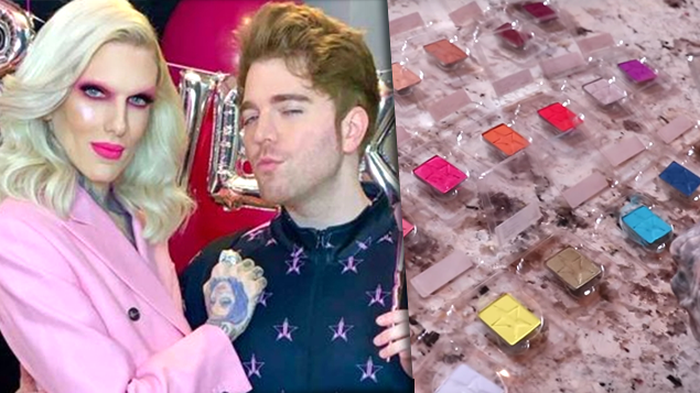Shane Dawson reveals 'Conspiracy' eyeshadow palette colours with Jeffree Star