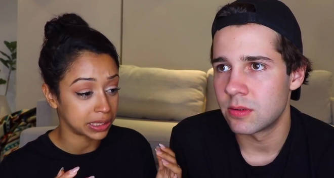 david dobrik liza koshy break up video