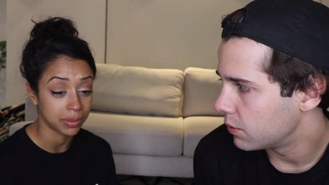 liza koshy david dobrik we broke up video