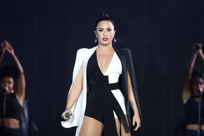 Demi Lovato Performs At Rock In Rio