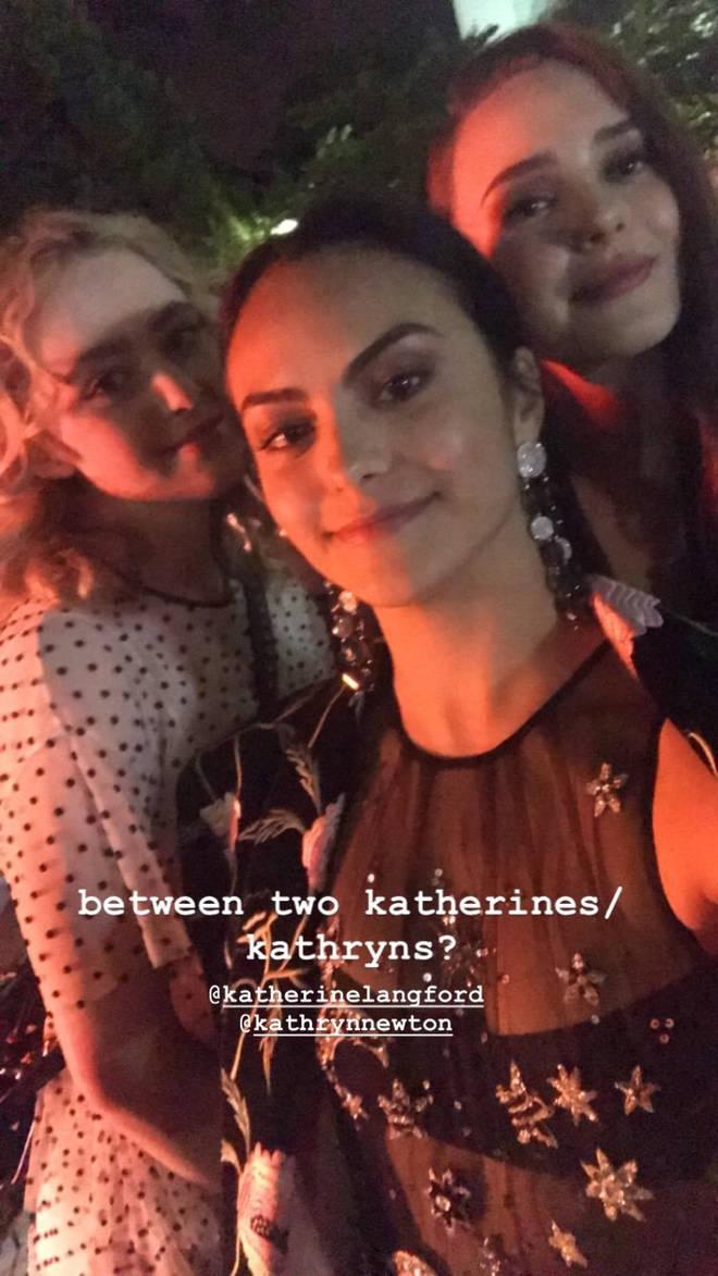 Kathryn Newton, Camila Mendes & Katherine Langford