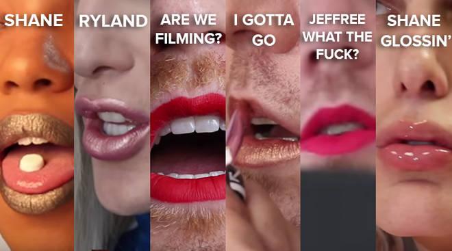 Shane Dawson x Jeffree Star liquid lip shades