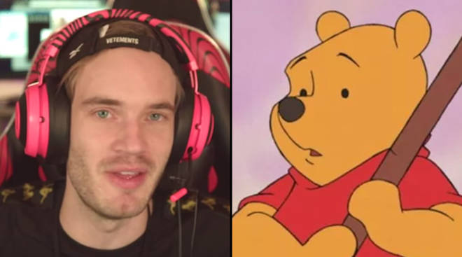 PewDiePie banned in China over Winnie The Pooh memes about President Xi Jinping.