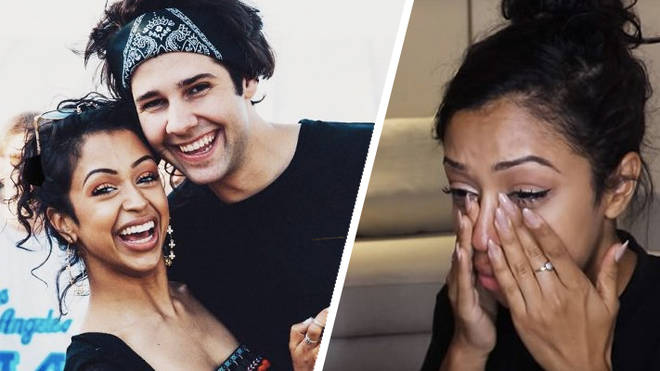 Liza Koshy and David Dobrik