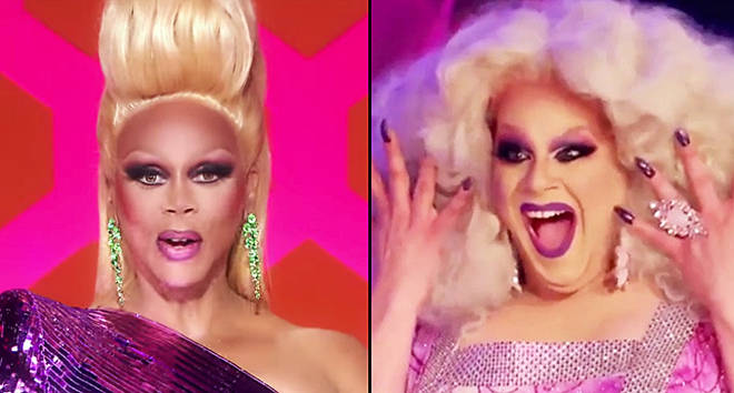 RuPaul and Nina West.