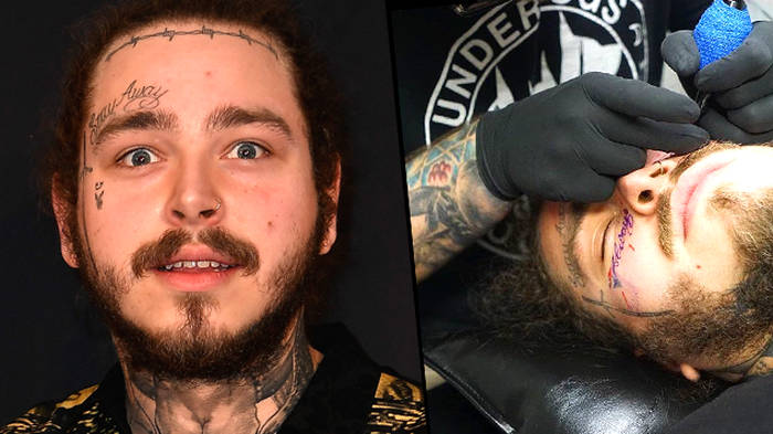 68d8ef25b70de Lil Xan Just Got TWO New Face Tattoos And Everyone Is Losing It - PopBuzz