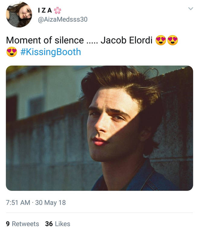 The Internet Thinks The Kissing Booth's Jacob Elordi Is A Snack And