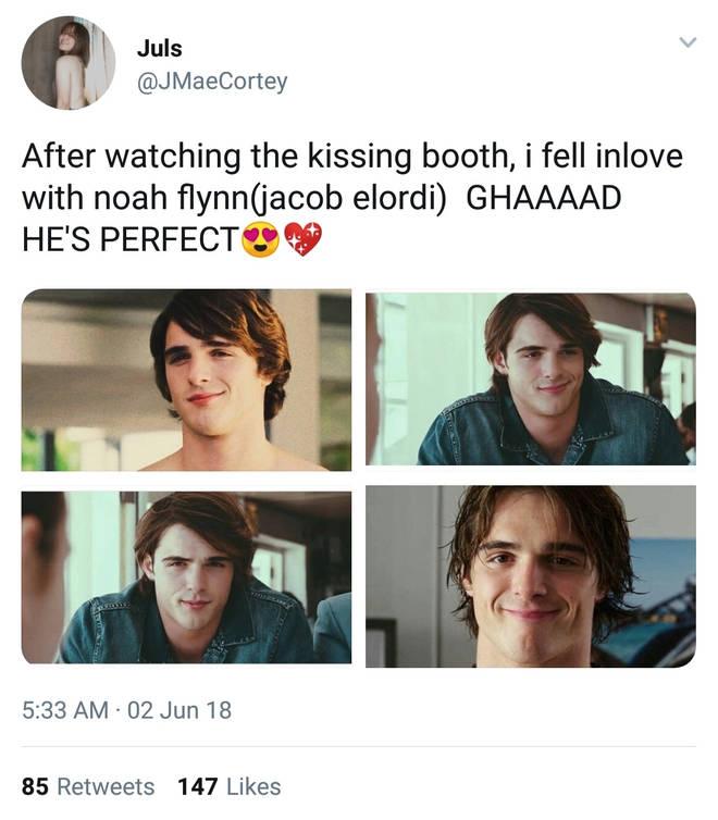 Jacob Elordi Twitter
