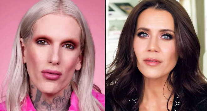 Jeffree Star and Tati Westbrook.