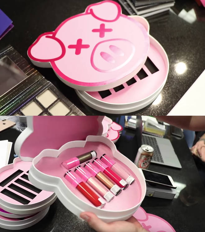 Shane Dawson x Jeffree Star Liquid Lip pig box