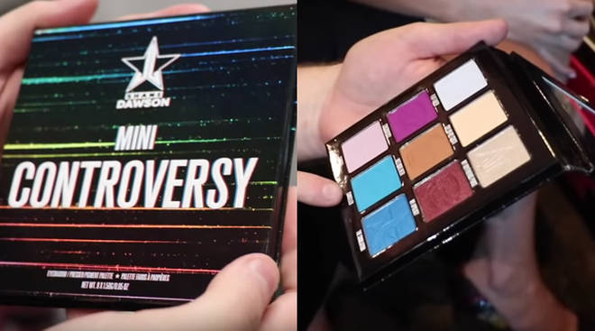 Shane Dawson x Jeffree Star: Mini Controversy palette