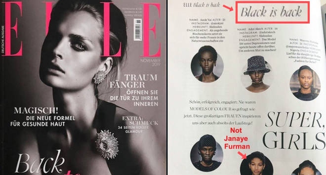 ELLE Germany 'Back to Black' Feature.