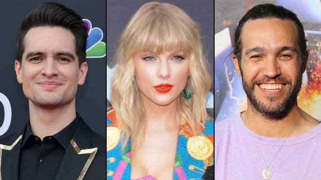 Brendon Urie, Taylor Swift, Pete Wentz