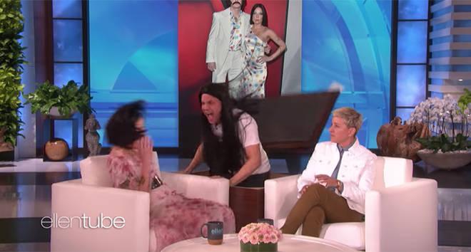 Halsey on Ellen.