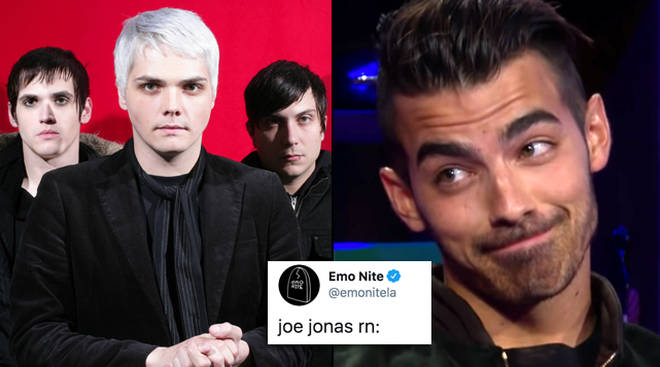 My Chemical Romance have officially reunited and fans are now apologising to Joe Jonas