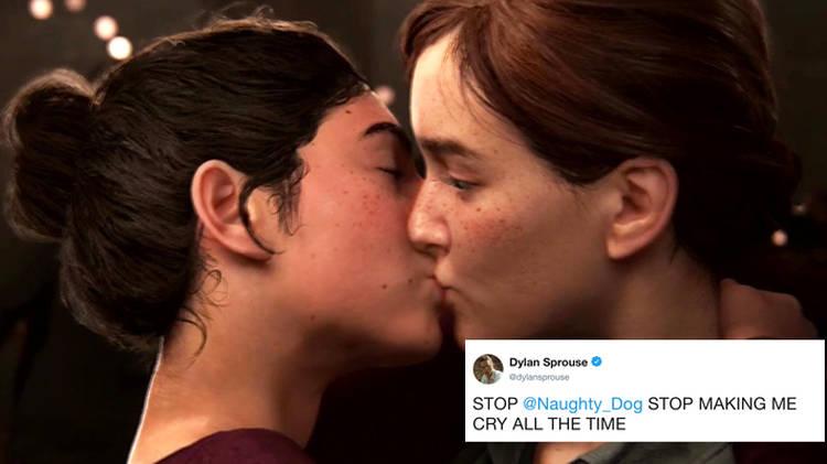 Lesbian kissing games