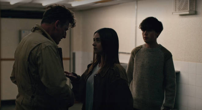 Alyssa and James extort a man in The End of the F***ing World