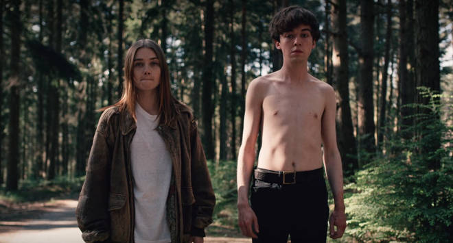 James and Alyssa The End of the F***ing World