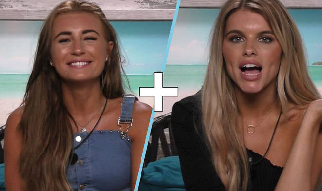 Dani and Hayley Love Island