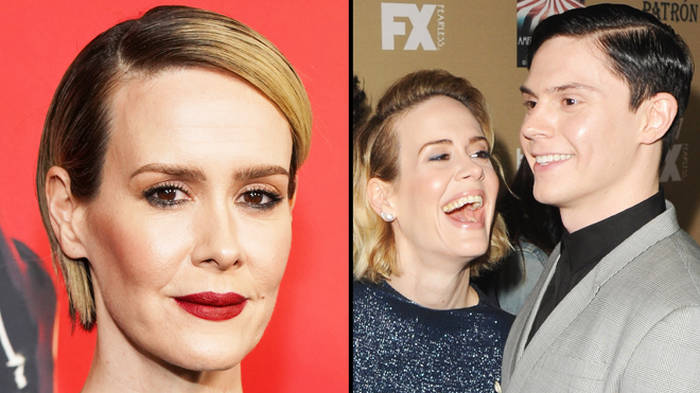 Sarah Paulson says she'll return to American Horror Story if Evan Peters does