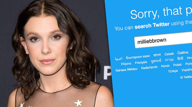Millie Bobby Brown Deleted Twitter