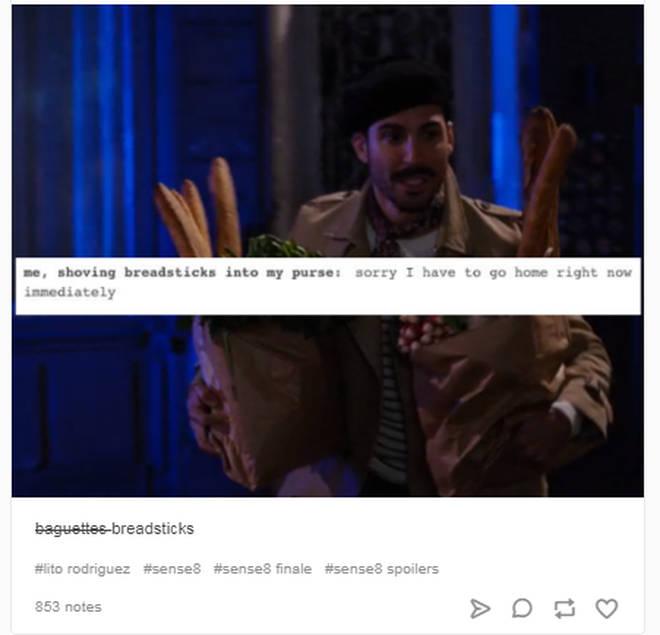 Sense8 baguette