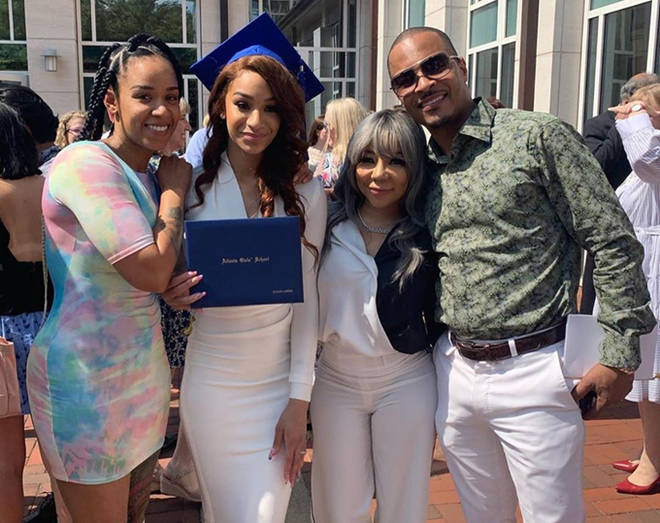 Ms Niko, Dejah Harris, Tiny Harris and T.I.