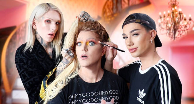 Jeffree Star, James Charles and Shane Dawson.