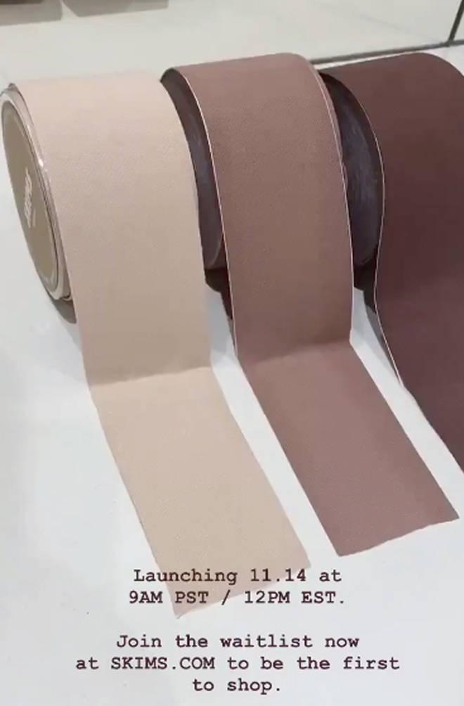 SKIMS Tonal Body Tape.