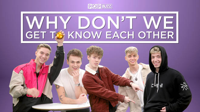 Why Don't We take on a friendship test