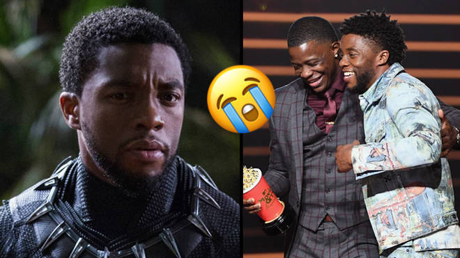 Chadwick Boseman & James Shaw Jr.