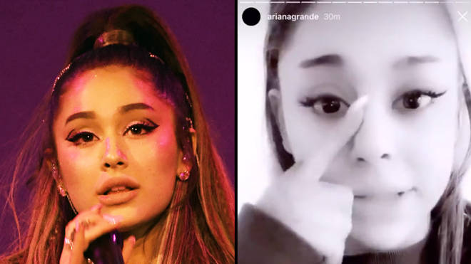 Ariana Grande tearfully apologises for cancelling show due to sickness